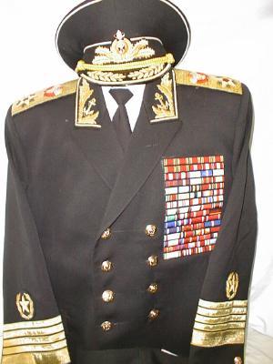 Full Uniform Of Admiral The Soviet Union Fleet