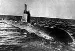 The first nuclear-powered submarine of project 627 � the Leninsky Komsomol