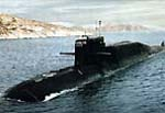 Missile-carrying underwater cruiser of project  667 � BDRM
