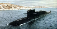 Guided-missile submarine cruiser K-407 Novomoskovsk (project 667BDRM)