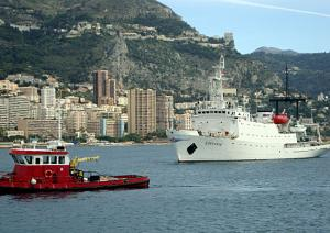 BSF Hydrographic Ship Donuzlav Arrived in Monaco