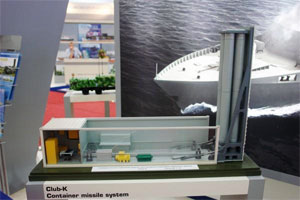 "Russian Club-K missile system is ""hidden"" in freight container"