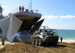 Black Sea Fleet Marines Held Landing Assault Drill