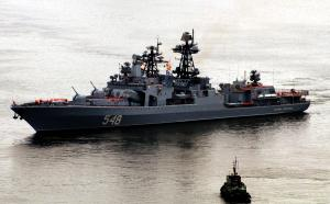 ASW Ship Admiral Panteleyev Returned to Vladivostok