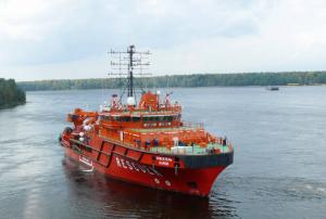 Rescue Ship Spasatel Karev Begins Sea Trials