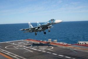 Northern Fleet deck-based pilots are ahead of flight plan