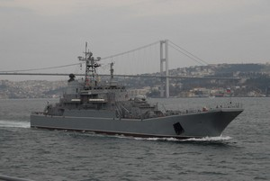 Russian Landing Ships Getting Ready for Deployment to Syria