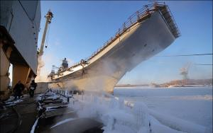 Media: Russia Will Deliver Aircraft Carrier to India in December