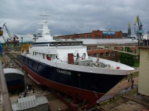 Research Ship Seliger Started Mooring Trials