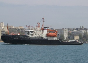 Rescue tug Shakhter returned to Sevastopol