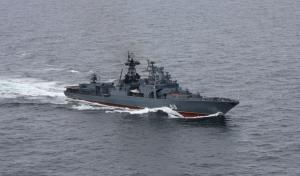 ASW Ship Severomorsk Called At Tartus, Syria