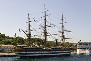 Italian Navy's oldest ship to visit Sevastopol