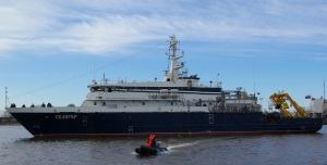 Ensign Hoisting Date for Research Ship Seliger Appointed