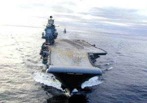 Russian Navy Carrier Group Entered Mediterranean