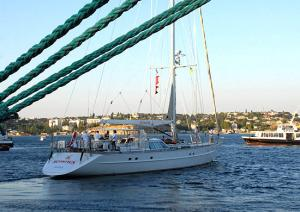 Russian-Ukrainian Yacht To Fly St. Andrew's Flag Worldwide