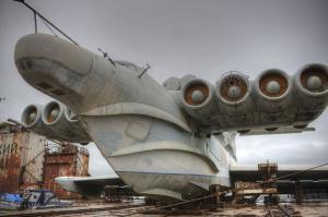 Ministerio de Defensa Consentido Ekranoplan Lun a convertirse en Museo