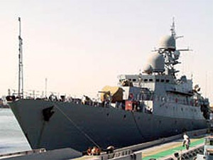 Russian shipyard built frigate for Vietnam