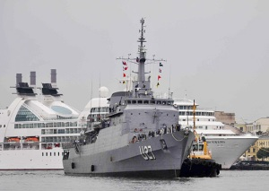 Brazilian Navy's training ship continues visiting St. Petersburg