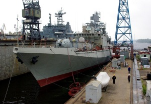 Frigate INS Trikand Started Dockside Trials
