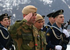 Young Norwegian Officers Arrived at Northern Fleet