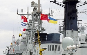 Chinese Destroyer Called at Sevastopol