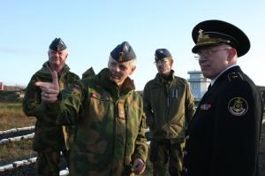 Norwegian Delegation Visited Northern Fleet