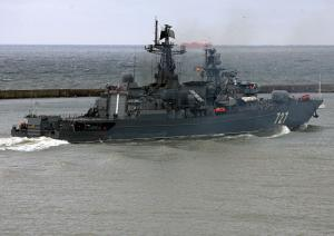 Baltic Fleet Frigate Yaroslav Mudry Completed Deployment
