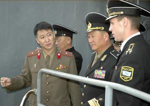 North Korea's Admiral Visited Pacific Fleet ASW Ship And Submarine