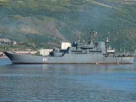 Northern Fleet Task Unit Enters Atlantic