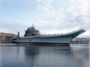 Sevmash Keeps Working on INS Vikramaditya