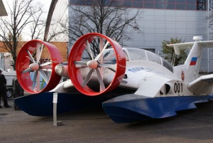 Russia works on airfoil craft concept
