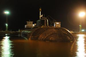 Repair Works Started on SSN Smolensk