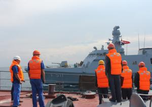 BLACKSEAFOR Ships Arrive at Novorossiysk