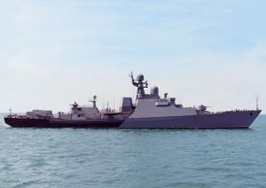 Corvette Dagestan Ready to Join Caspian Flotilla