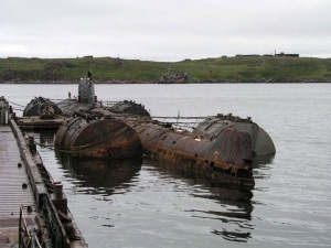 Rosatom: nuclear subs must be lifted from Arctic seas
