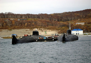 Viliuchinsk base expects first Bulava-armed Borei class subs