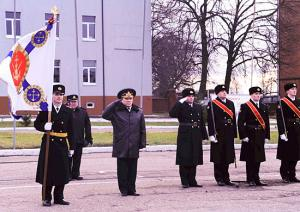 Baltic Fleet Infantry Brigade Obtained St. George Colors