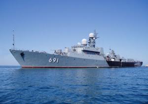 Caspian Flotilla Task Group Holds Exercise