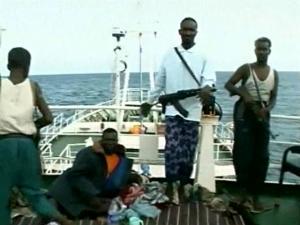 Pirates took Danish sailors hostages