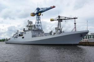 Yantar Shipyard to Start Building New Frigates for India in 2012