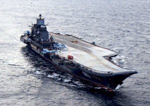 Admiral Kuznetsov sailed off for aircraft flight drills