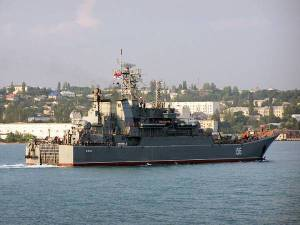 Black Sea Fleet ship Yamal completed visit to Greek port Pilos