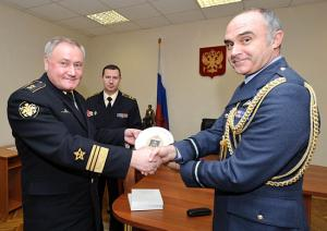 British Delegation Visited Northern Fleet