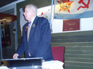 New Ladoga. Conference dedicated to the centenary of V.S. Cherokov. N.F. Vet's speech