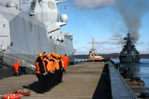 Russian, Norwegian Mariners Continue Pomor-2012 Exercise