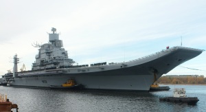 Russia Puts Finishing Touches on Indian Aircraft Carrier