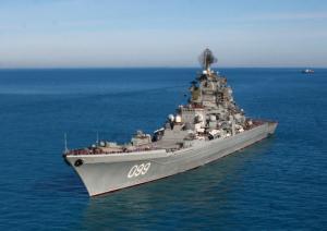Petr Veliky Passed Vilkitski Strait