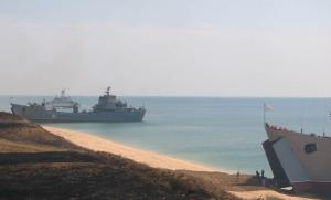 Black Sea Fleet holds landing exercise in Crimea