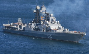 Russian Destroyer Visited Iranian Port
