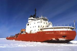 US Supplies Antarctic Station by Russian Icebreaker